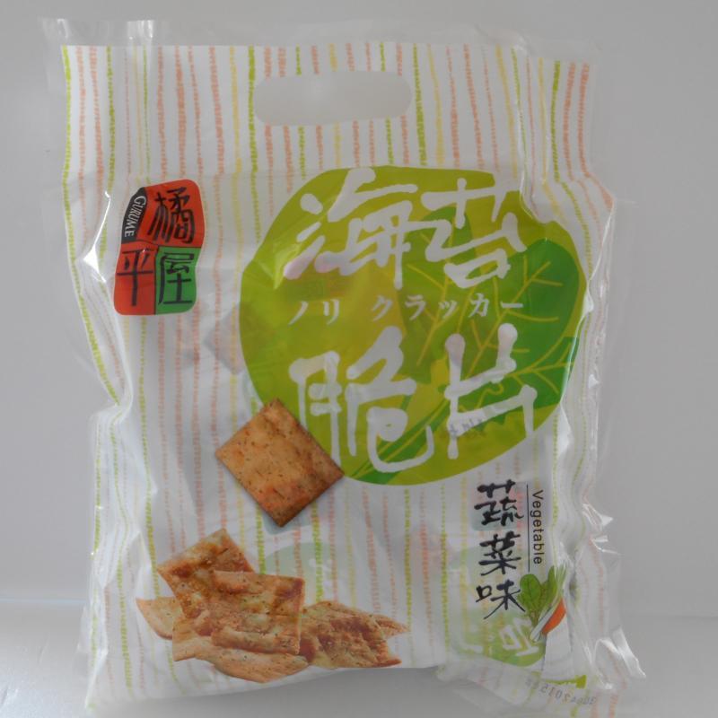 橘平屋海苔脆片量販包(蔬菜)