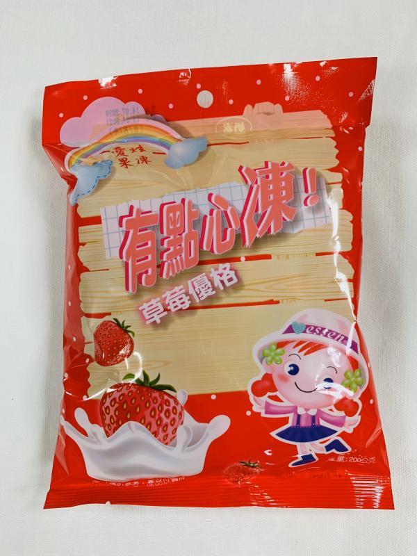 環碩.55元愛炫果凍(草莓優格)200g
