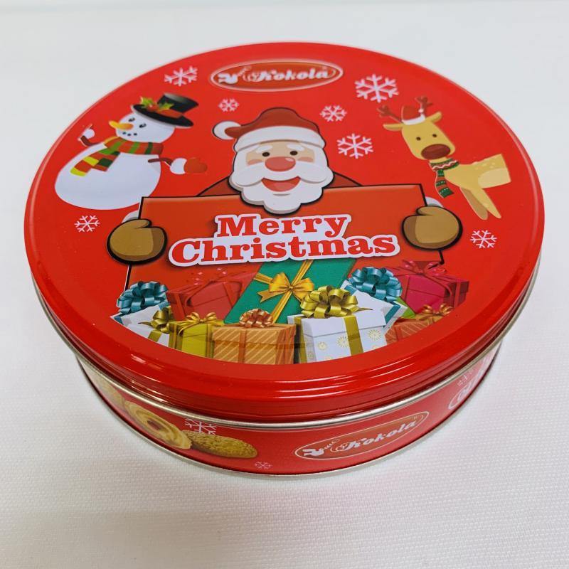 環碩.113g歐式曲奇餅組合-聖誕紅