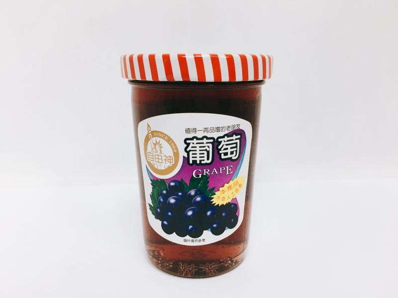 小自由神(葡萄)果醬240g
