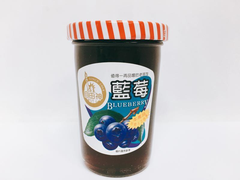 小自由神(藍莓)果醬
