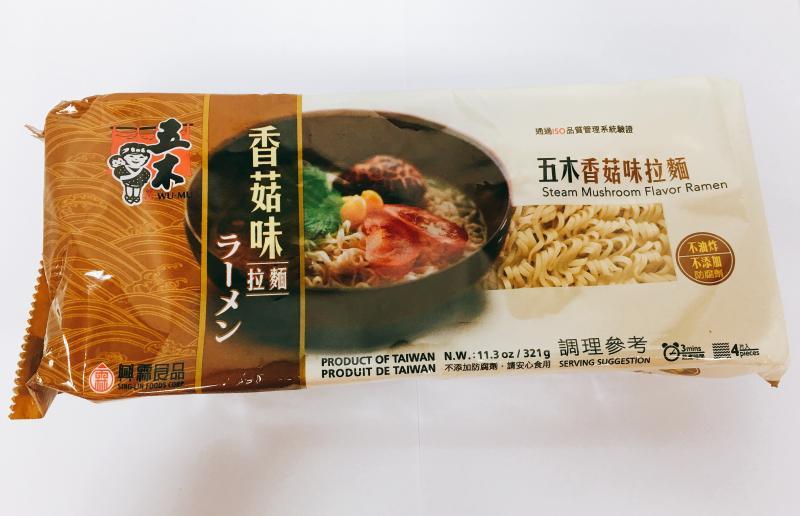 五木(香菇味)拉麵321g