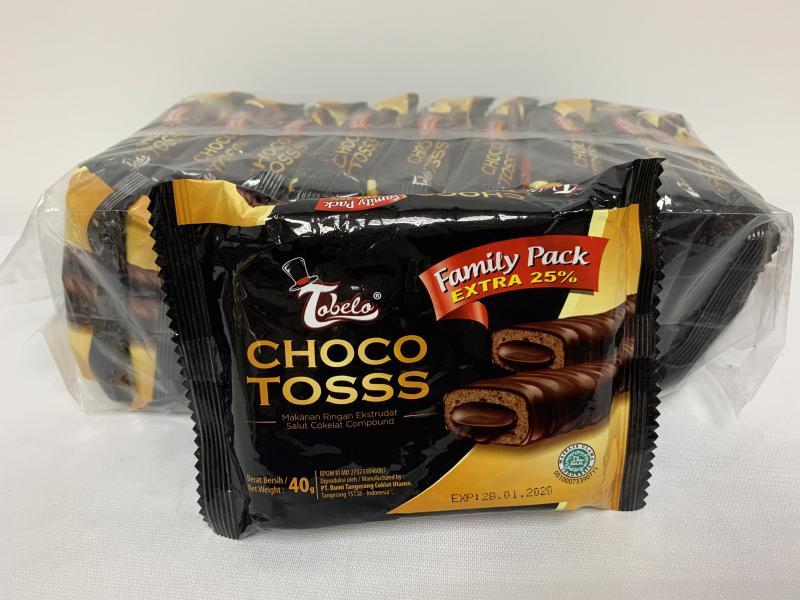 10元宏銘霹靂黑潮巧克力脆捲