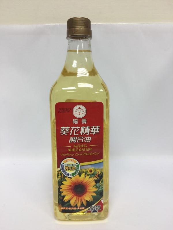 1L福壽葵花精華調和油