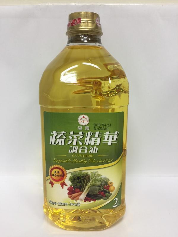 2L福壽蔬菜精華調合油