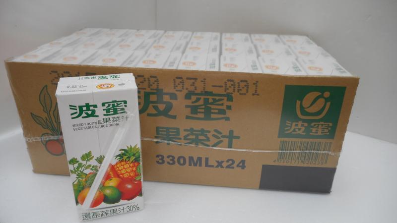 波蜜果菜汁(330ml)