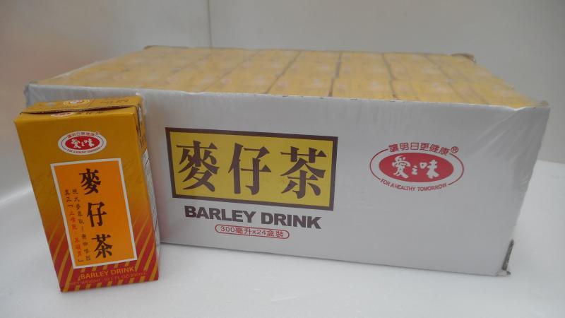 300ml愛之味麥仔茶