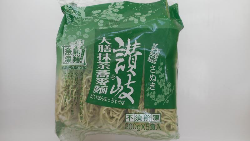 讚岐急凍熟麵-抹茶蕎麥麵