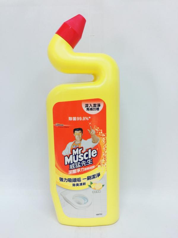 威猛(檸檬)深層淨力潔廁凝膠750ml