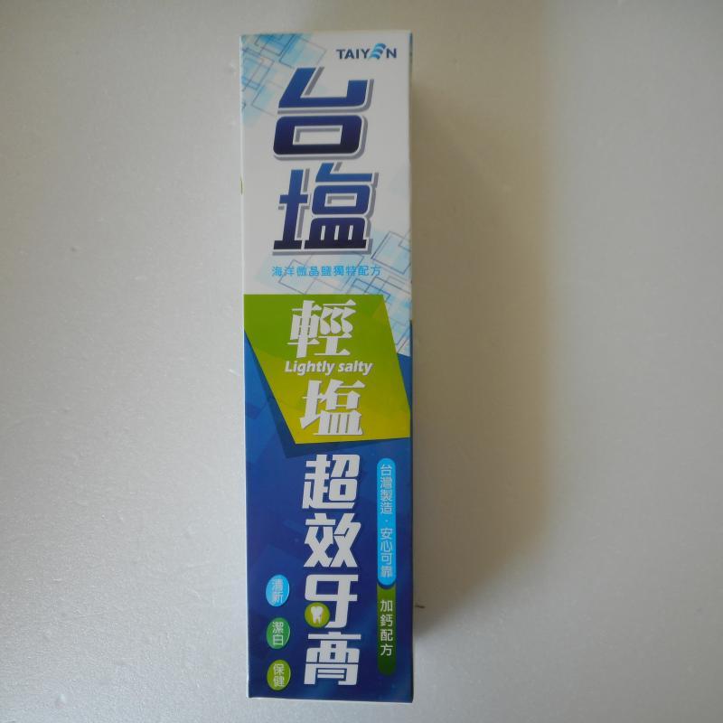 台鹽-輕鹽超效牙膏